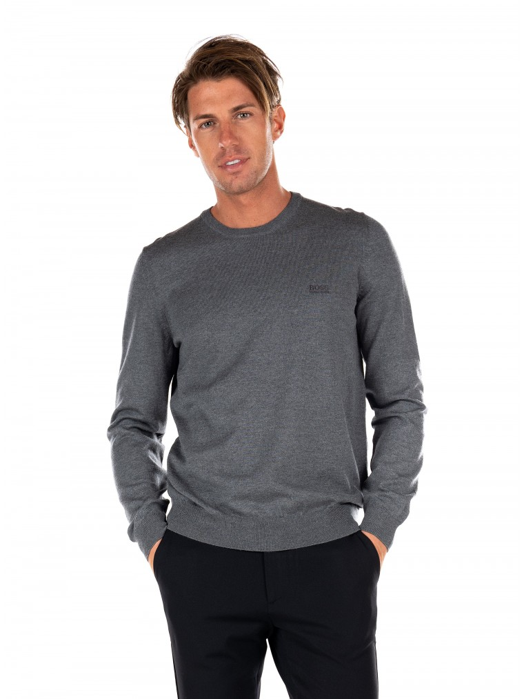 Boss Knit Botto-L-Grey