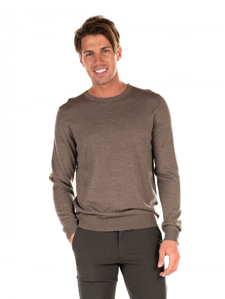 Jack & Jones Merino Knit Mark-Beige