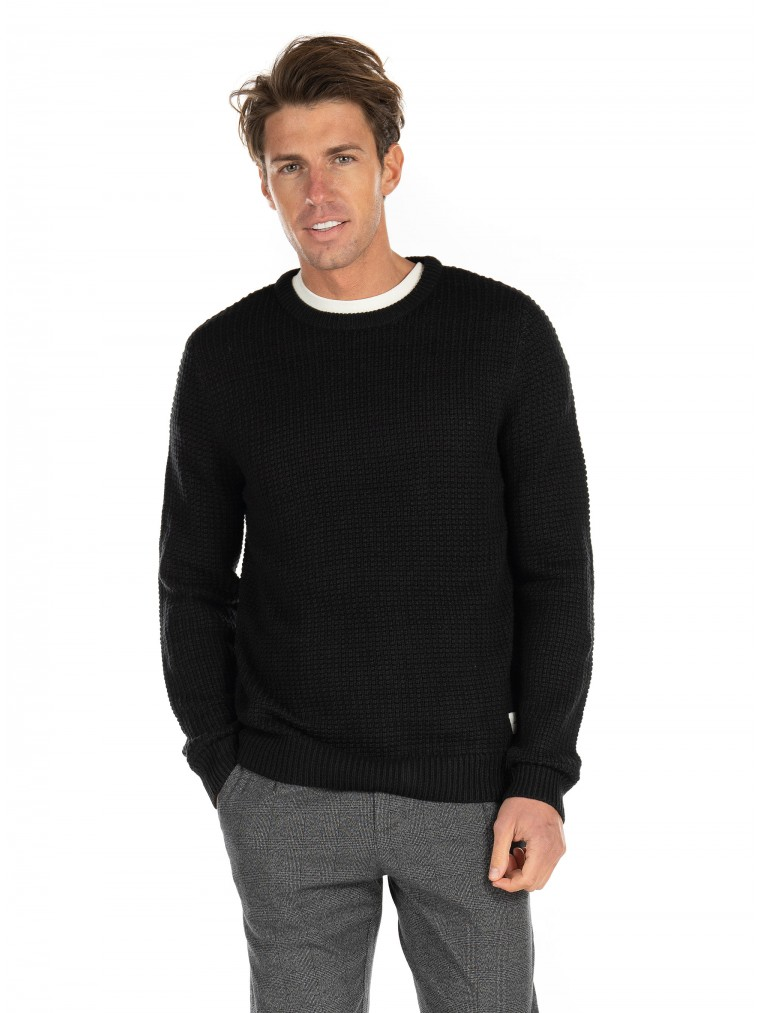 Jack & Jones Knit Brandon-Black
