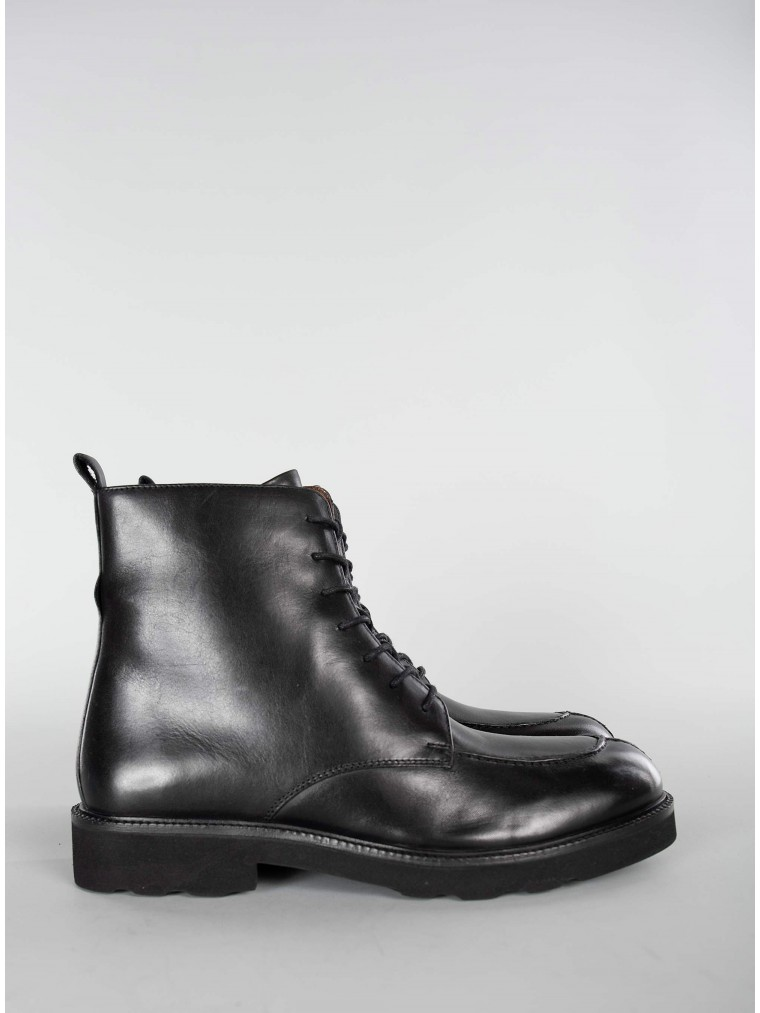 Philippe Lang Ankle Boots-Black