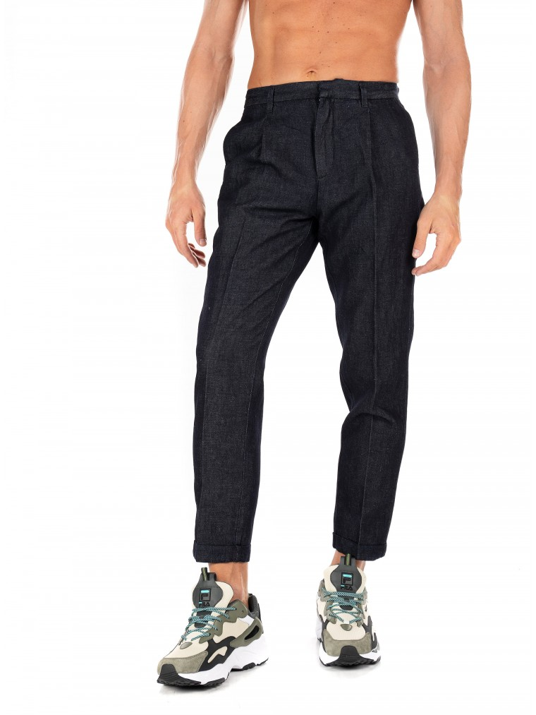 Scotch & Soda Pants-Blue