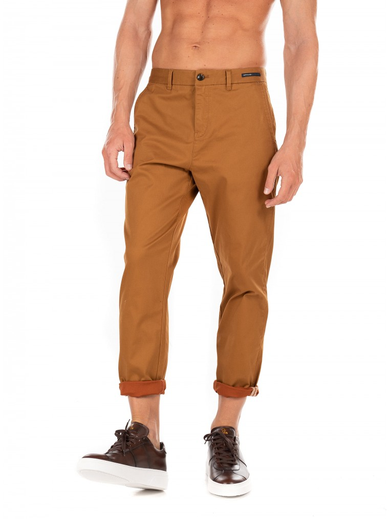 Scotch & Soda Pants Fave-Rust Brown
