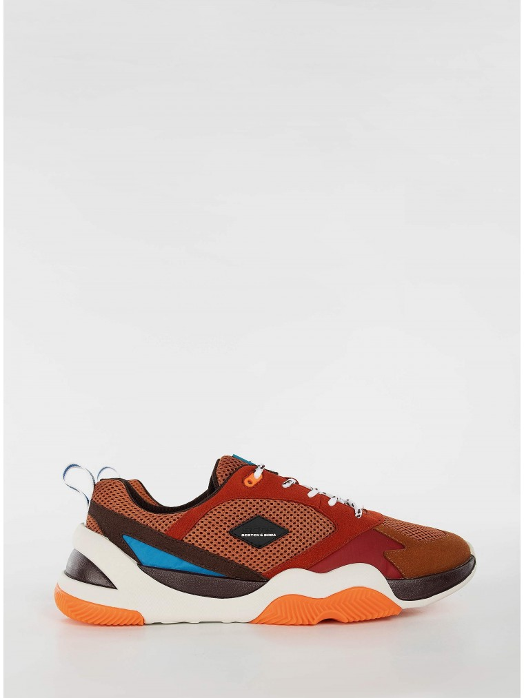 Scotch & Soda Sneakers Icaryus-Rust Brown
