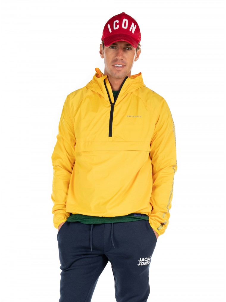 Superdry Sport Training Packable Jacket-Yellow