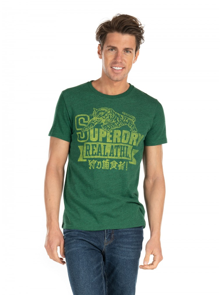 Superdry Re-Worked Classic T-Shirt-Green