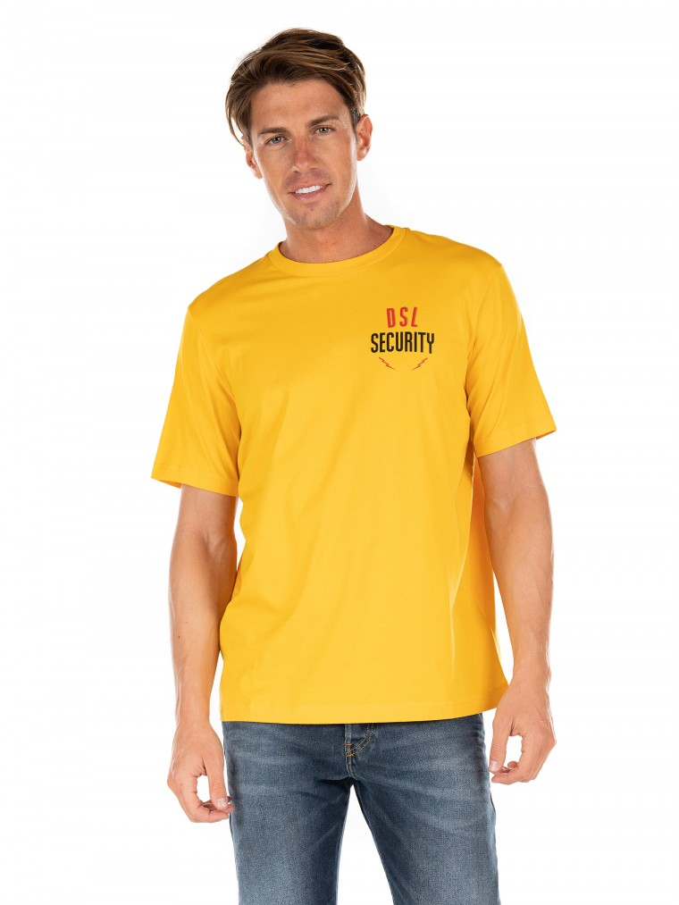 Diesel T-Shirt T-Just-N41-Yellow