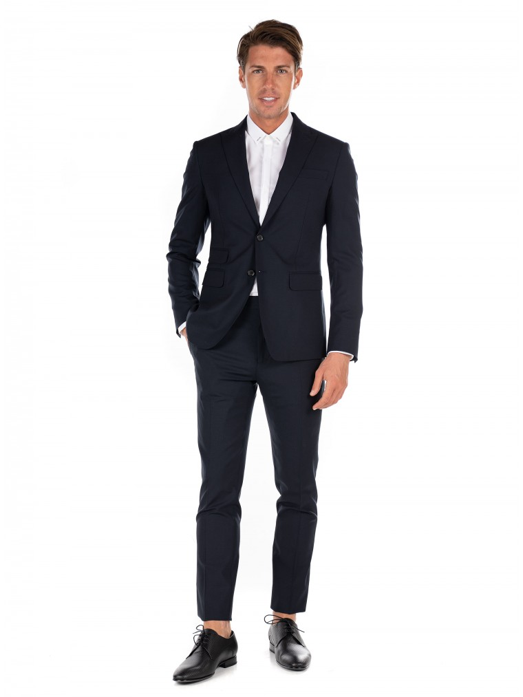 Dsquared Suit London-Blue
