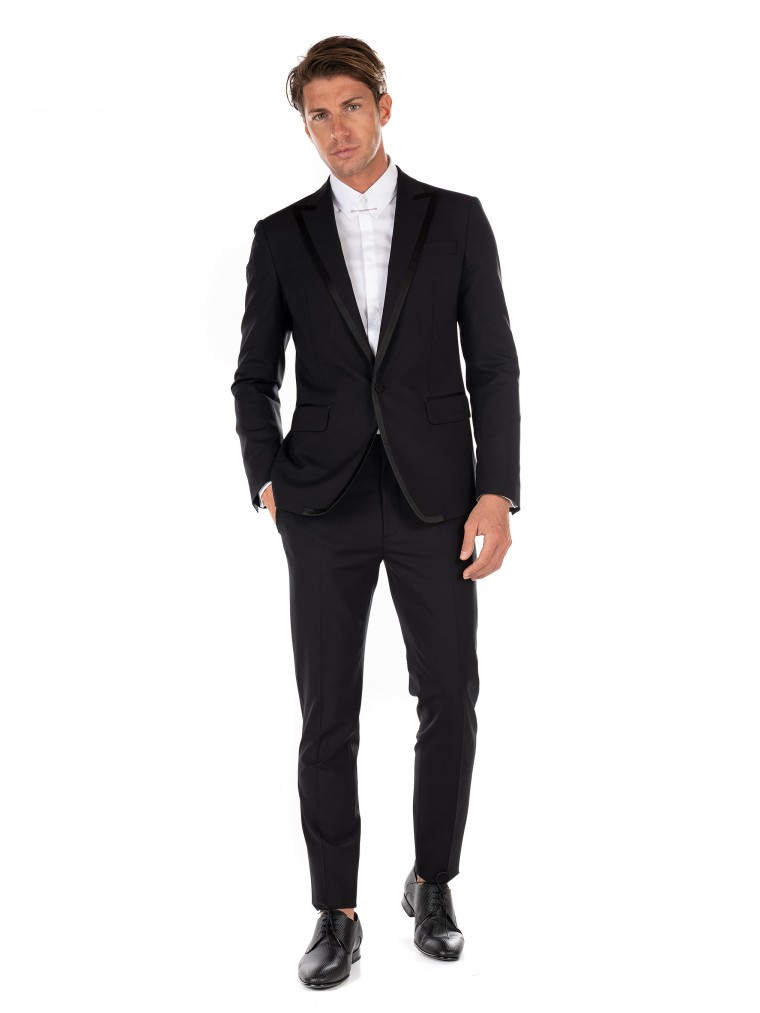Dsquared Suit London-Black