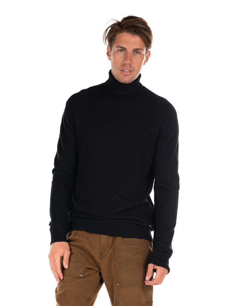Gabba Rollneck Knit Gormely-Black