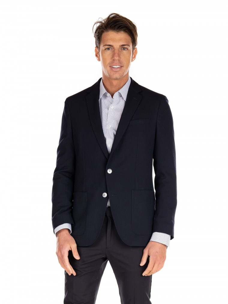 Boss Blazer Haylon-Dark Blue
