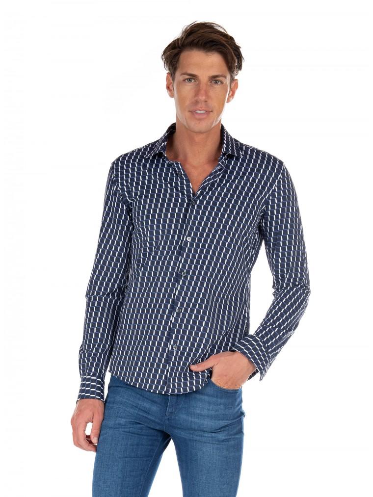 Boss Shirt Ronni_F-Blue