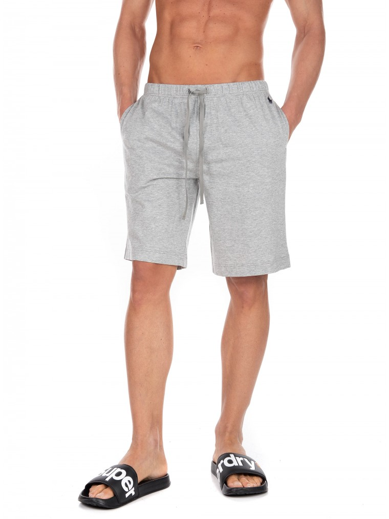 Polo Ralph Lauren Pyjama Shorts-Light Grey Melange