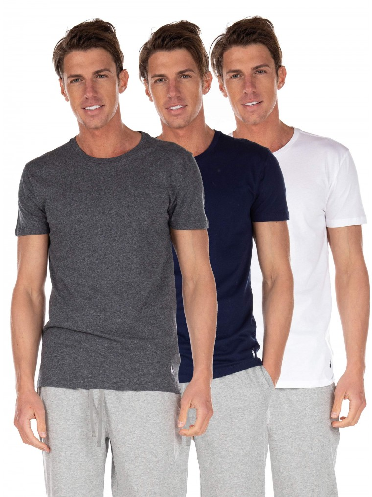 Polo Ralph Lauren 3-pack Lounge T-Shirt-Multi Colors