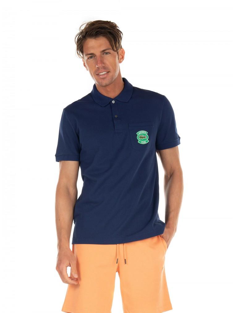 Lacoste Polo Shirt-Blue