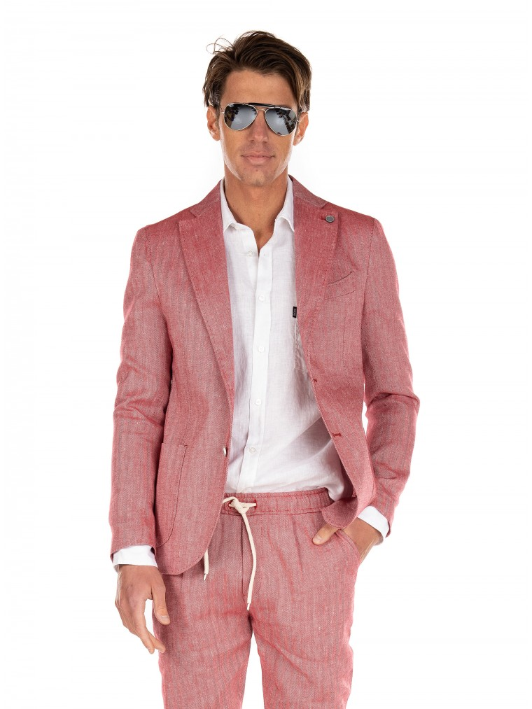 Paul MIRANTA Blazer-Red