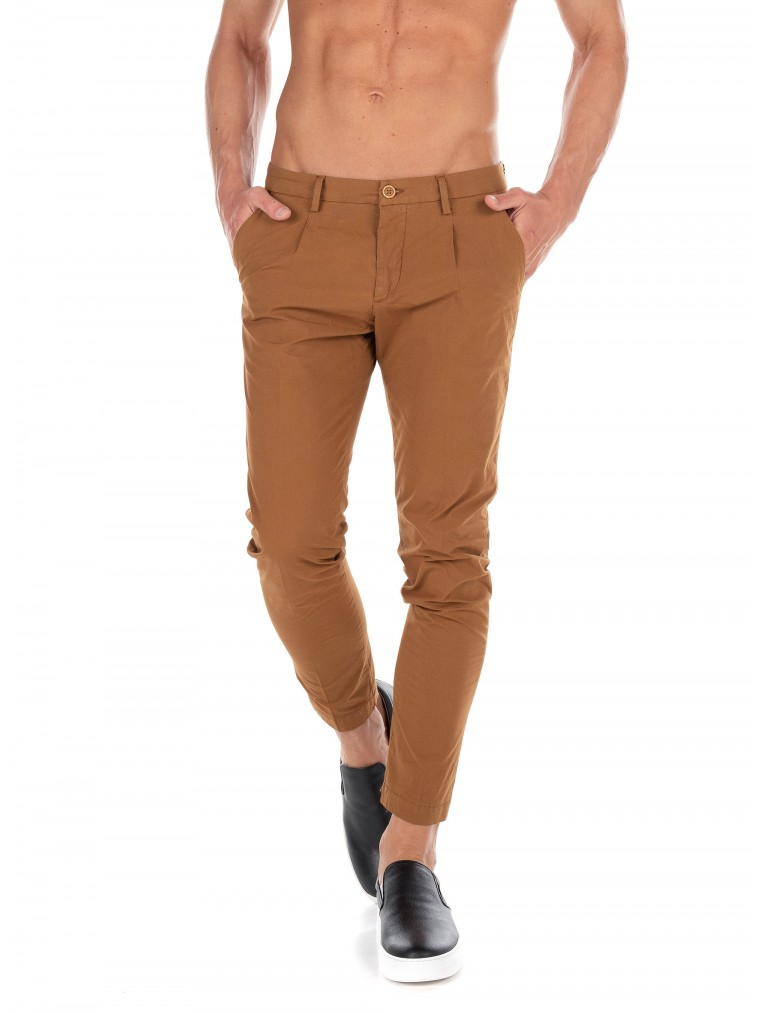 Paul MIRANTA Pants-Camel