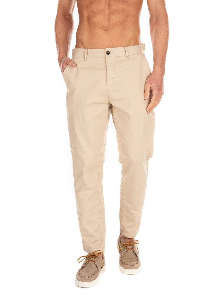 Scotch & Soda Pants Fave-Light Beige