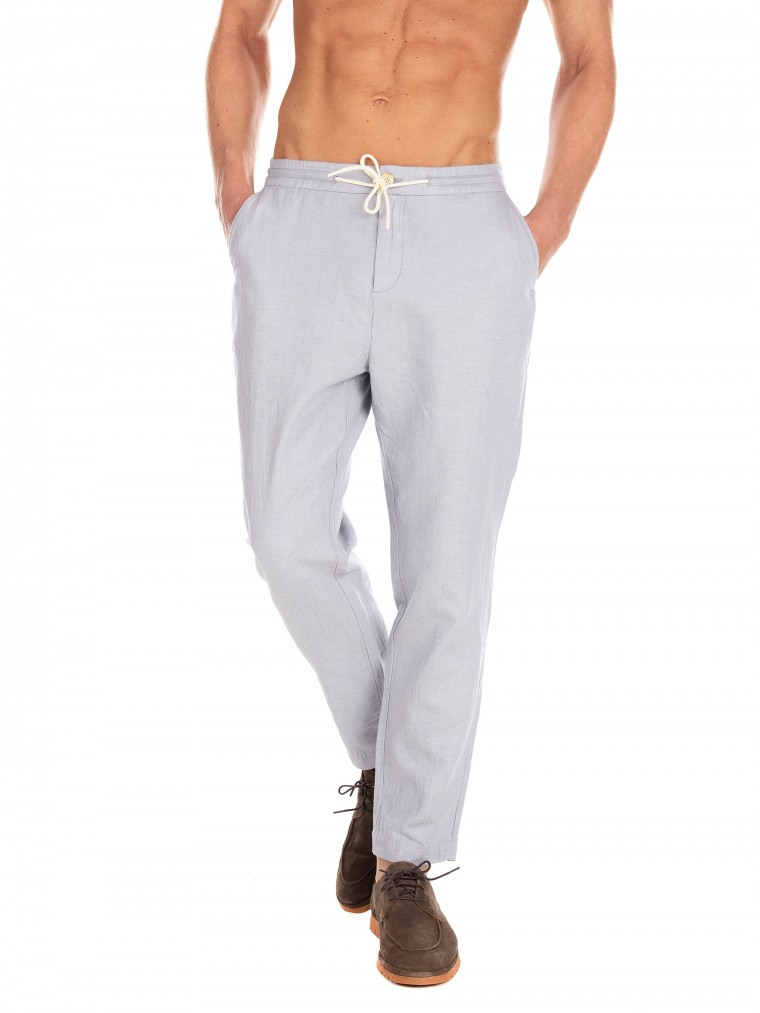 Scotch & Soda Pants Fave-Light Blue