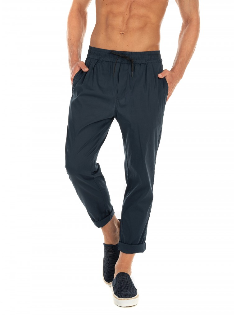 Scotch & Soda Relaxed Pleated Pants -Blue