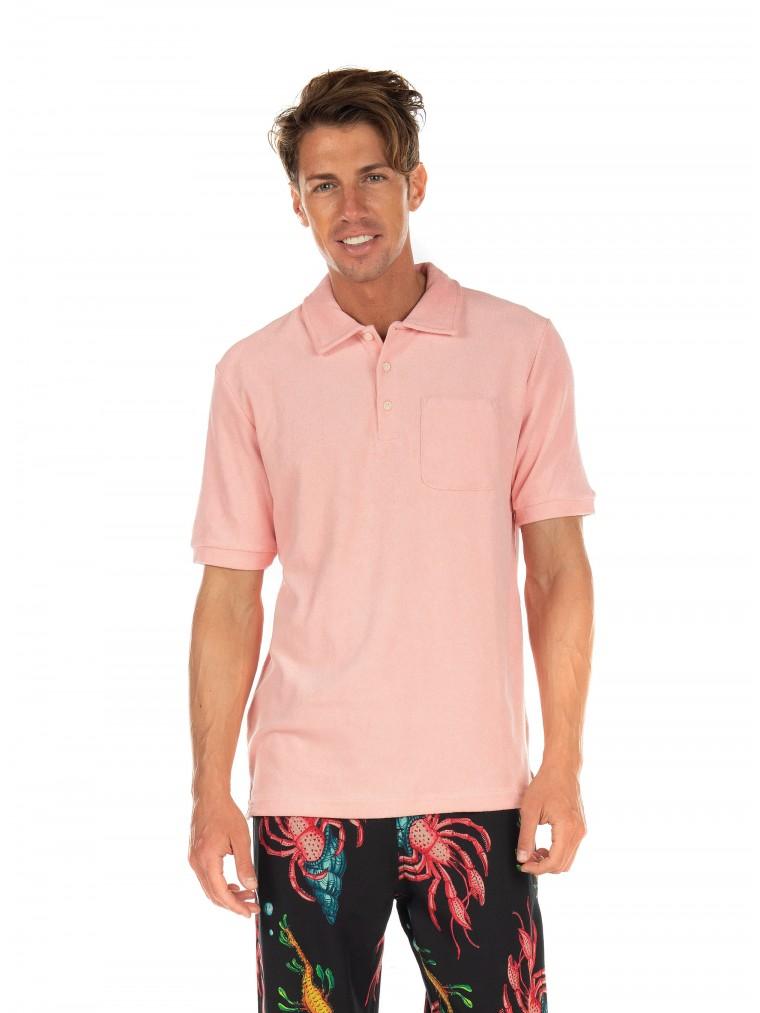 Scotch & Soda Polo Shirt-Pink
