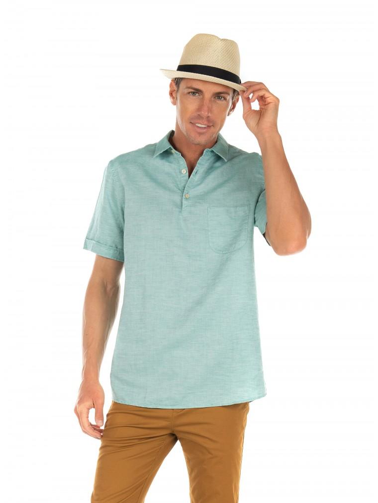 Scotch & Soda Polo Shirt-Aquamarine
