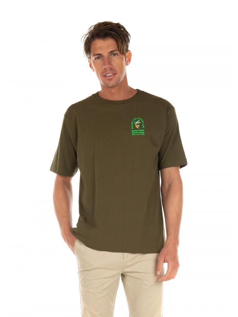 Scotch & Soda T-Shirt-Khaki