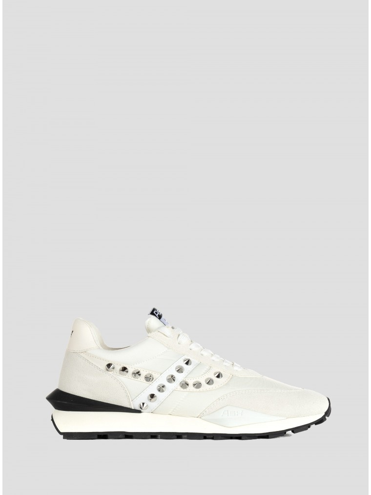 Ash Sneakers Spiderman Studs-White