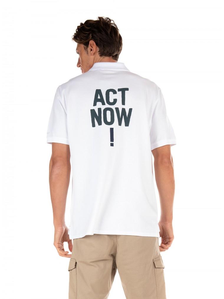 Ecoalf Polo Shirt Watford-White