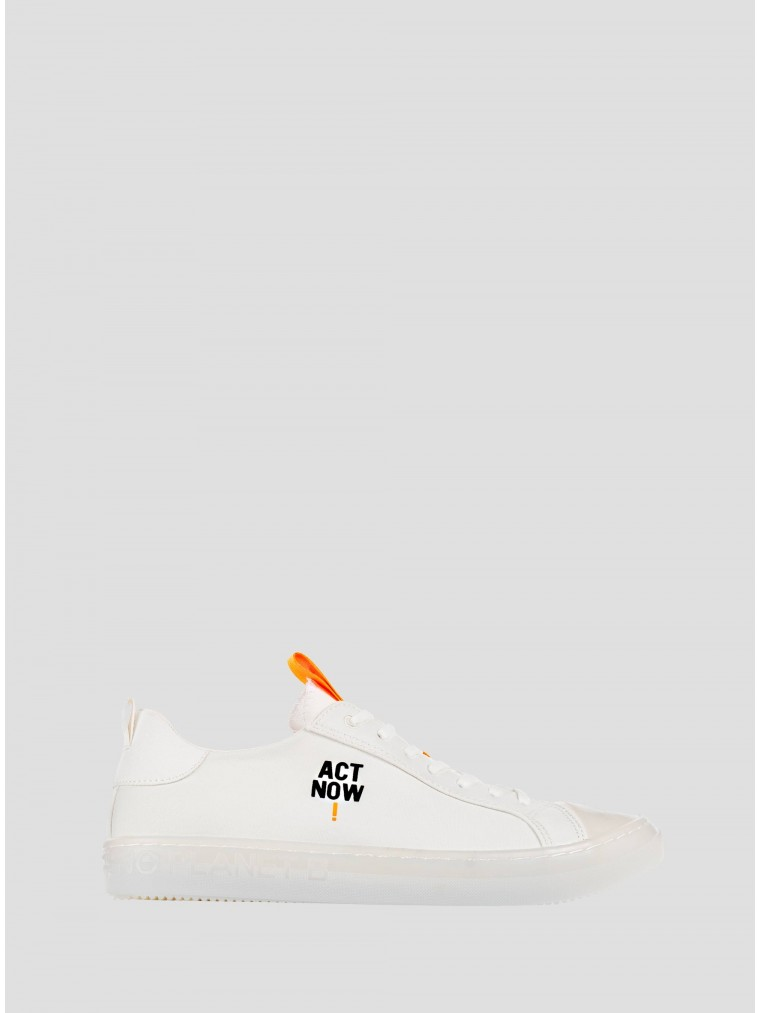 Ecoalf Sneakers Act Now-White