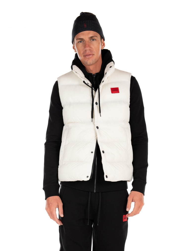 Hugo Gilet In Recycled Fabric Baltino2141-Off White