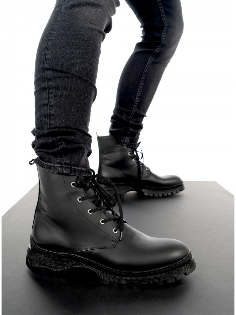 Selected Boots Brody-Black