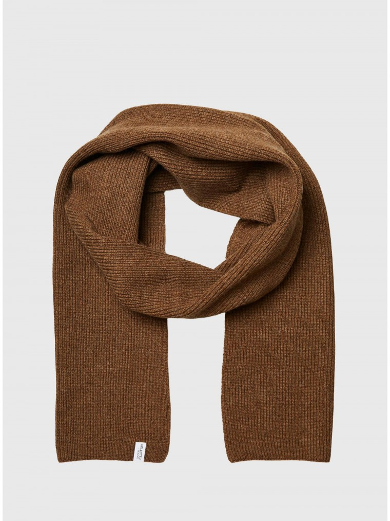 Selected Scarf Cray-Rust Brown