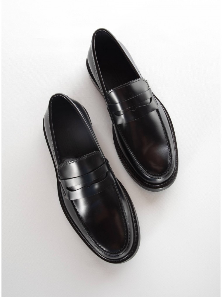 Selected Polido Penny Loafers Carter-Black