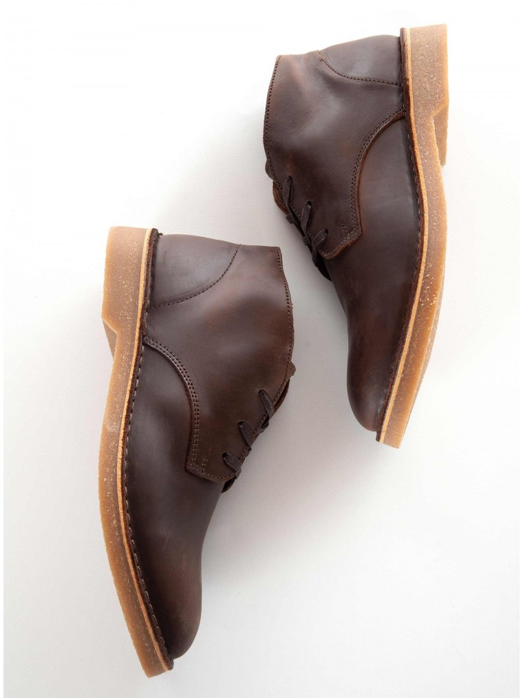 Selected Desert Boots-Brown