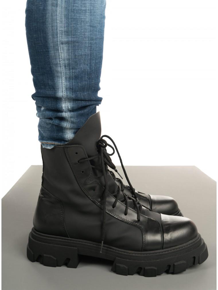 Per La Moda Boots Carlo-Black