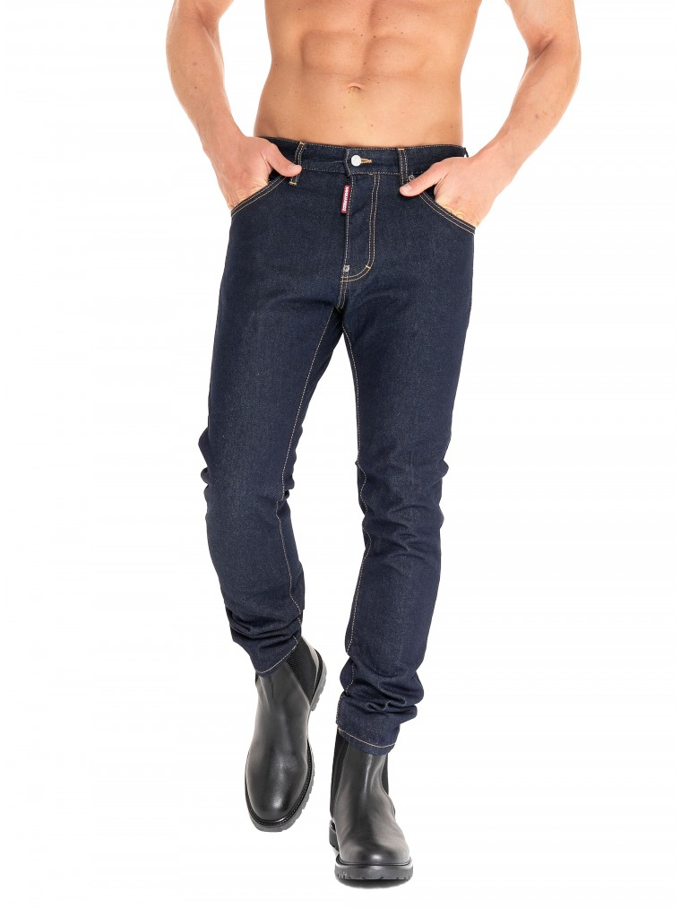 Dsquared Jeans Cool Guy-Unwashed Denim