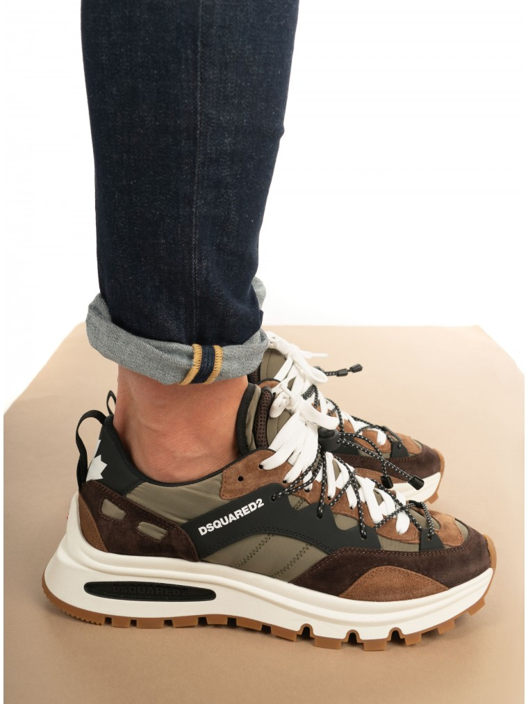 Dsquared Sneakers Run DS2-Olive
