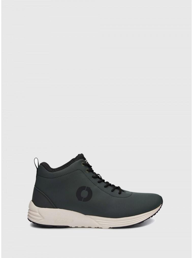 Ecoalf Oregon Mid Boot Sneakers-Khaki