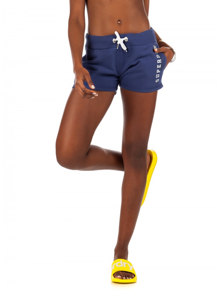 Superdry Track & Field Lite Shorts-Blue