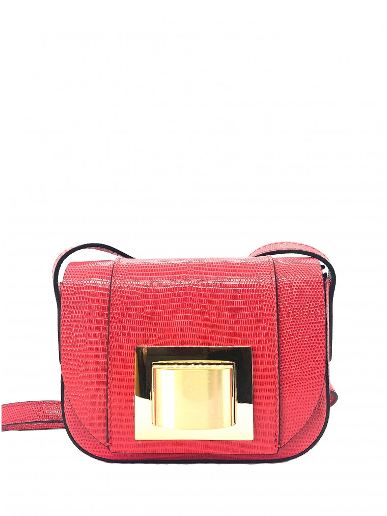 Gianni Chiarini Crossbody Bag-Coral