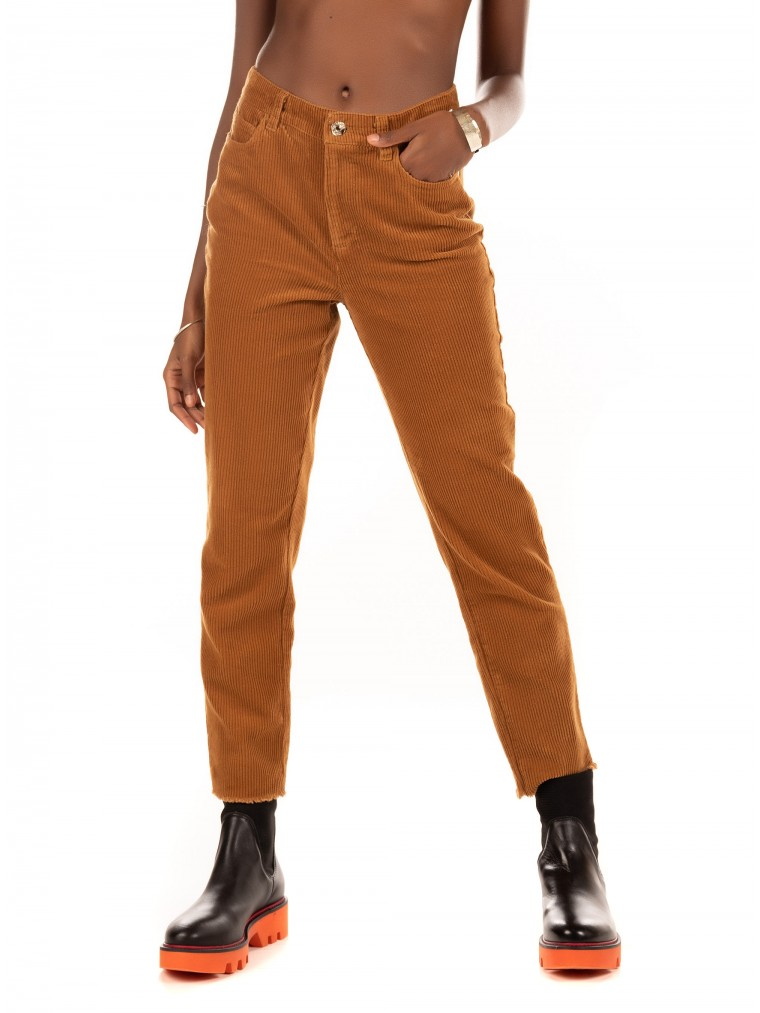 Only Corduroy Pants Emily-Rust