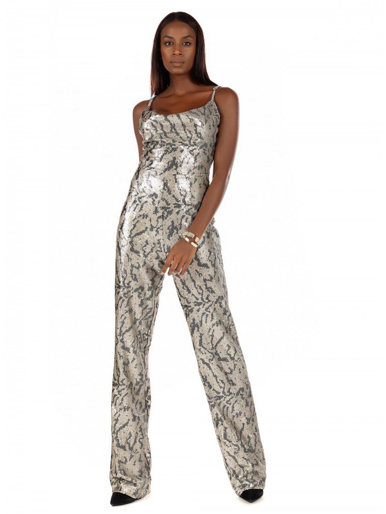 Kendall + Kylie Jumpsuit-Animal Print