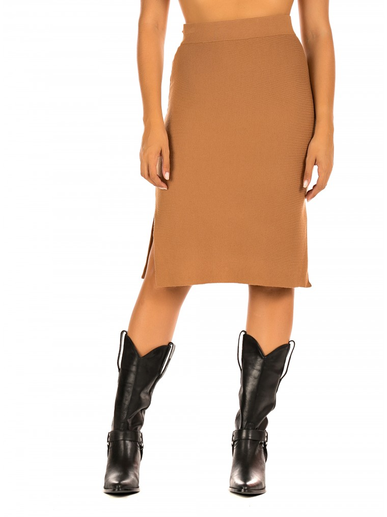 Vero Moda Pencil Skirt Nancy-Rust
