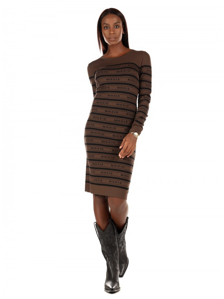 Nikkie Dress Jolie-Brown