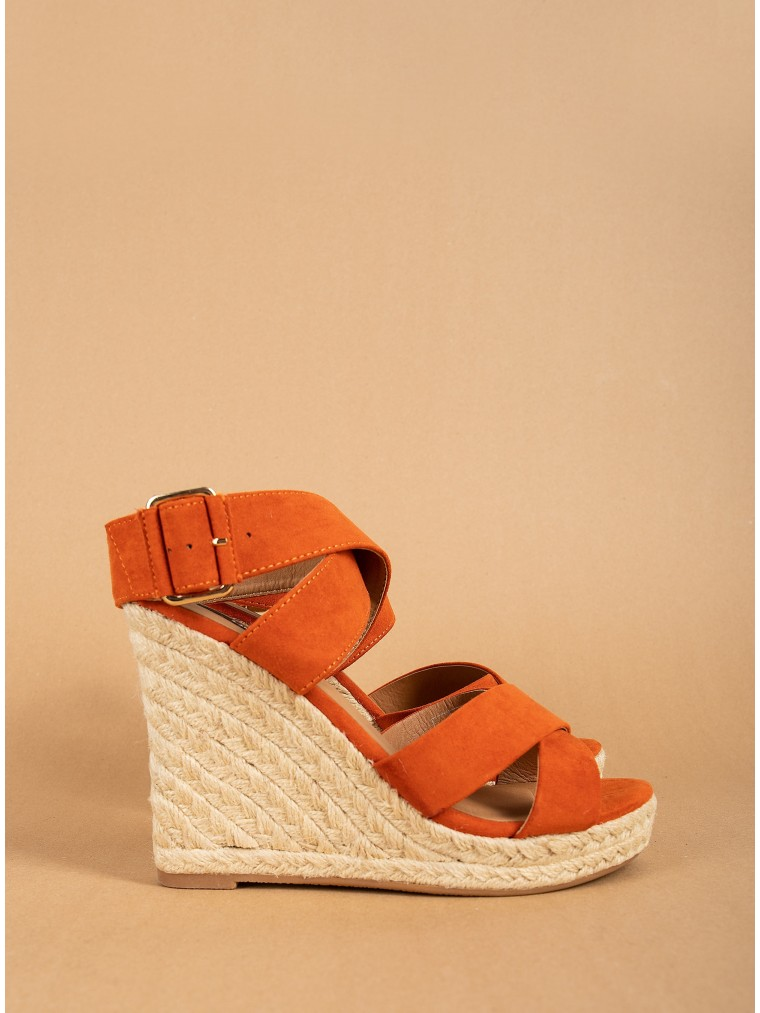 Only Heeled Sandals Amelia-Cinnamon