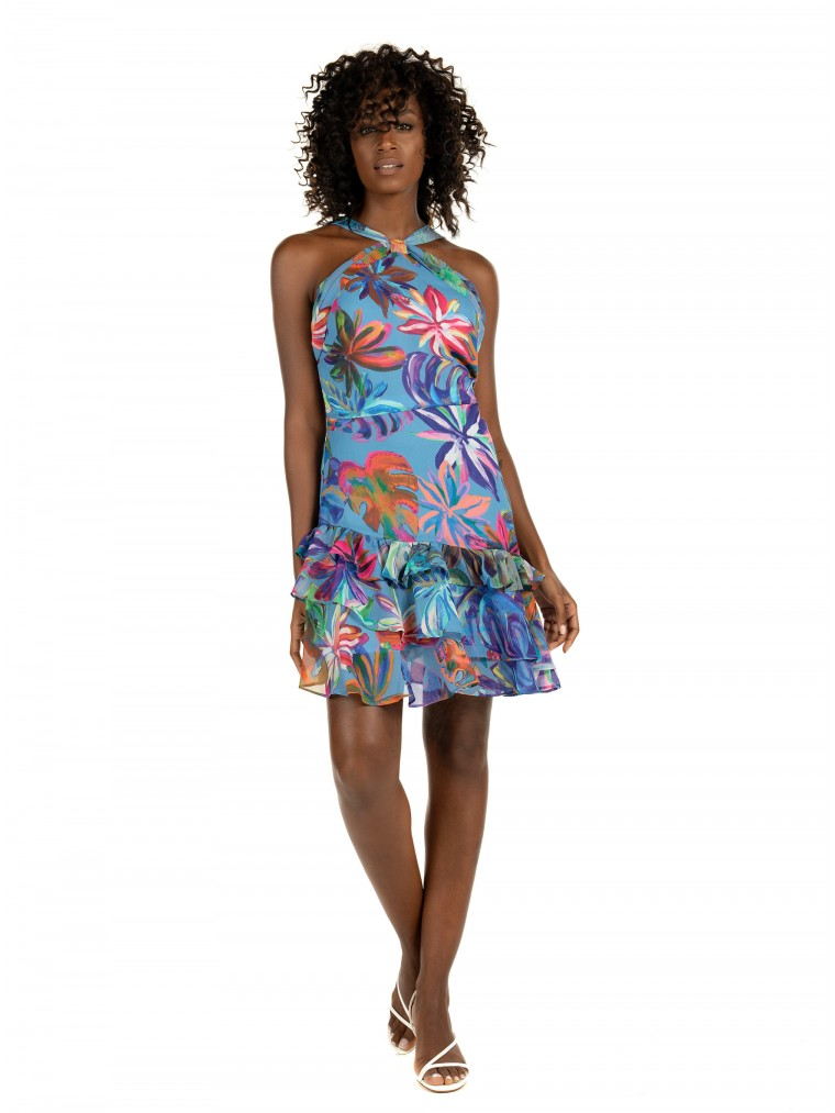 Kendall + Kylie Dress-Multi Colors