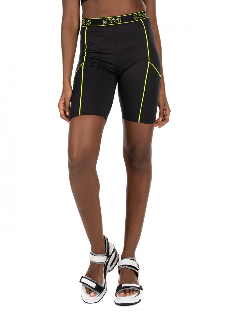Nicce Cycling Shorts Carbon-Black