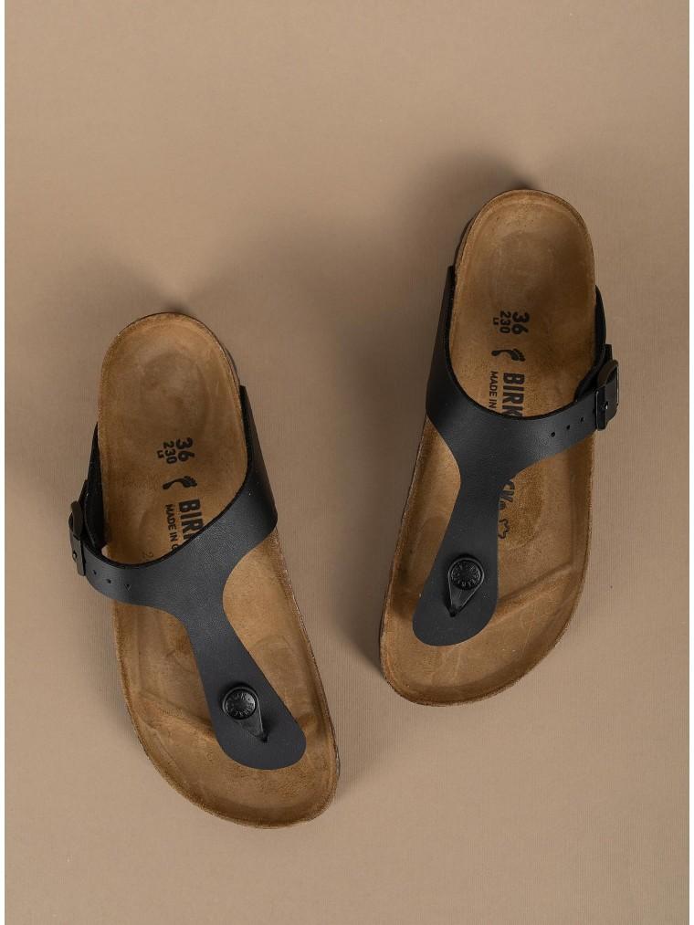 Birkenstock Sandals Birko-Flor Gizeh-Black