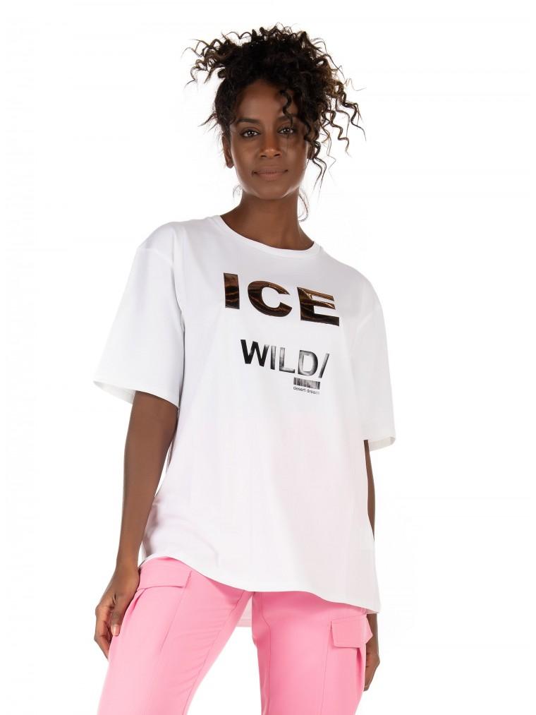 Ice Play T-Shirt-White