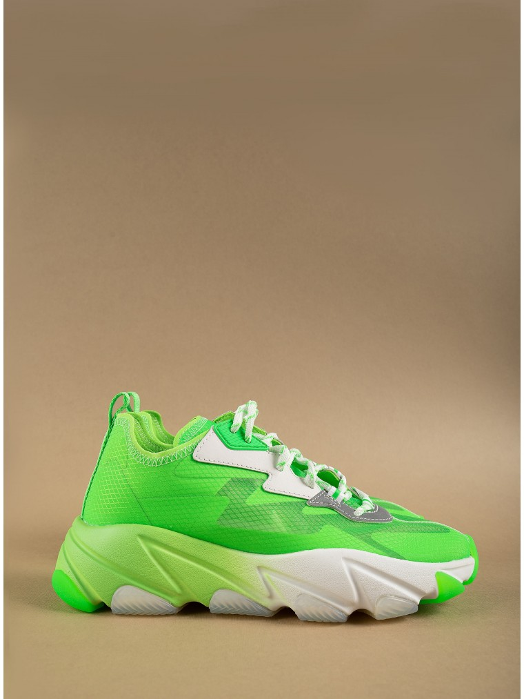 Ash Sneakers Eclipse-Lime